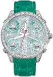 Jacob & Co Five Time Zone - 40mm, 2ct Bezel JC-M30g 2.00 carat bezel watch