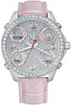 Jacob & Co Five Time Zone - 40mm, 2ct Bezel JC-M30p 2.00 carat bezel watch