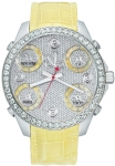 Jacob & Co Five Time Zone - 40mm, 2ct Bezel JC-M30y 2.00 carat bezel watch