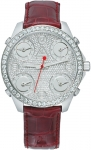 Jacob & Co Five Time Zone - 40mm, 2ct Bezel JC-M34 2.00 carat bezel watch