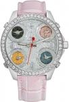 Jacob & Co Five Time Zone - 40mm, 2ct Bezel JC-M40 2.00 carat bezel watch
