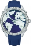 Jacob & Co Five Time Zone - 40mm, 2ct Bezel JC-M47sb 2.00 carat bezel watch