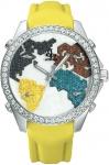 Jacob & Co Five Time Zone - 40mm, 2ct Bezel JC-M47sgr 2.00 carat bezel watch