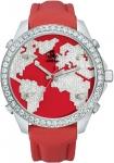 Jacob & Co Five Time Zone - 40mm, 2ct Bezel JC-M47sr 2.00 carat bezel watch