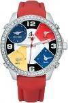 Jacob & Co Five Time Zone - 40mm, 2ct Bezel JC-M4 2.00 carat bezel watch