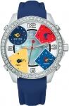 Jacob & Co Five Time Zone - 40mm, 2ct Bezel JC-M7 2.00 carat bezel watch