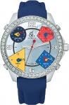 Jacob & Co Five Time Zone - 40mm, 2ct Bezel JC-M8 2.00 carat bezel watch