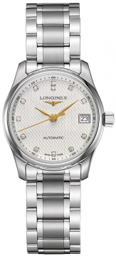 Longines Master Automatic 29mm Ladies watch, model number - L2.257.4.77.6, discount price of £1,315.00 from The Watch Source