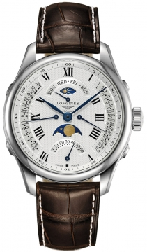 Longines Master Retrograde Seconds 41mm Mens watch, model number - L2.738.4.71.3, discount price of £2,142.00 from The Watch Source