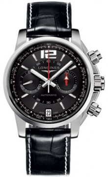 Longines Admiral Automatic Chronograph Mens watch, model number - L3.666.4.56.2, discount price of £1,630.00 from The Watch Source