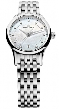 Maurice Lacroix Les Classiques Date Ladies Ladies watch, model number - lc1113-ss002-170, discount price of £1,010.00 from The Watch Source