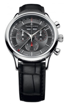 Maurice Lacroix Les Classiques Quartz Chronograph Mens watch, model number - lc1228-ss001-331, discount price of £770.00 from The Watch Source