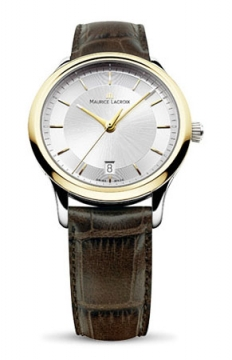 Maurice Lacroix Les Classiques Quartz Date Mens watch, model number - lc1237-pvy11-130, discount price of £645.00 from The Watch Source