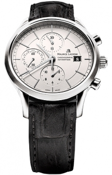 Maurice Lacroix Les Classiques Automatic Chronograph Mens watch, model number - lc6058-ss001-130, discount price of £1,620.00 from The Watch Source