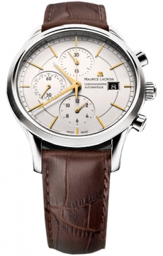 Maurice Lacroix Les Classiques Automatic Chronograph Mens watch, model number - lc6058-ss001-131, discount price of £1,620.00 from The Watch Source