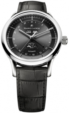 Maurice Lacroix Les Classiques Phase de Lune Automatic Mens watch, model number - lc6068-ss001-331, discount price of £2,170.00 from The Watch Source