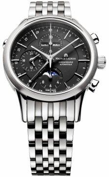 Maurice Lacroix Les Classiques Chronograph Day Date Phase de Lune lc6078-ss002-33e watch