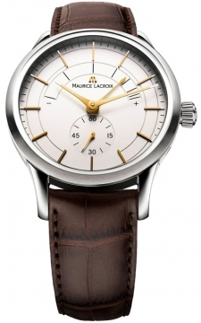 Maurice Lacroix Les Classiques Reserve de Marche Mens watch, model number - lc7008-ss001-130, discount price of £2,025.00 from The Watch Source
