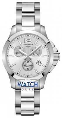 Longines Conquest Quartz Chrono 36mm L3.379.4.76.6 watch