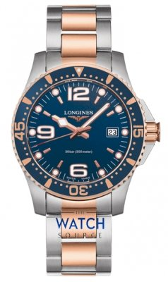 Buy this new Longines HydroConquest Quartz 41mm L3.740.3.98.7 mens watch for the discount price of £782.00. UK Retailer.