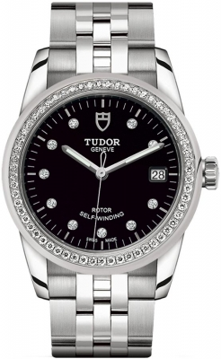 Buy this new Tudor Glamour Date 36mm m55020-0007 ladies watch for the discount price of £4,185.00. UK Retailer.