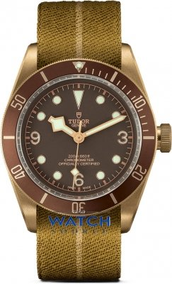 Tudor Black Bay Bronze 43mm m79250bm-0003 watch