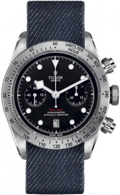 Buy this new Tudor Black Bay Chronograph 41mm m79350-0003 mens watch for the discount price of £3,477.00. UK Retailer.