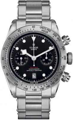 Buy this new Tudor Black Bay Chronograph 41mm m79350-0004 mens watch for the discount price of £3,705.00. UK Retailer.