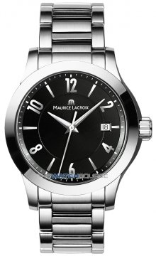 Maurice Lacroix Miros Quartz Date Mens Mens watch, model number - mi1067-ss002-320, discount price of £605.00 from The Watch Source