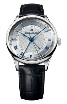 Maurice Lacroix Masterpiece Cinq Aiguilles Mens watch, model number - mp6507-ss001-110, discount price of £2,620.00 from The Watch Source
