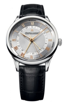 Maurice Lacroix Masterpiece Cinq Aiguilles Mens watch, model number - mp6507-ss001-111, discount price of £2,624.00 from The Watch Source