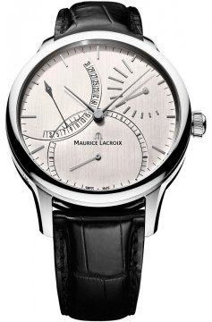 Maurice Lacroix Masterpiece Calendrier Retrograde Automatic Mens watch, model number - mp6508-ss001-130, discount price of £3,705.00 from The Watch Source