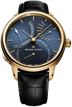 Maurice Lacroix Masterpiece Calendrier Retrograde Automatic Mens watch, model number - mp6509-pg101-430, discount price of £12,280.00 from The Watch Source
