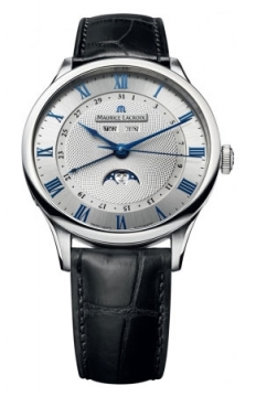 Maurice Lacroix Masterpiece Tradition Phase de Lune Mens watch, model number - mp6607-ss001-110, discount price of £2,740.00 from The Watch Source