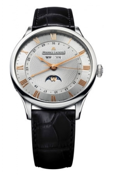 Maurice Lacroix Masterpiece Tradition Phase de Lune Mens watch, model number - mp6607-ss001-111, discount price of £2,740.00 from The Watch Source