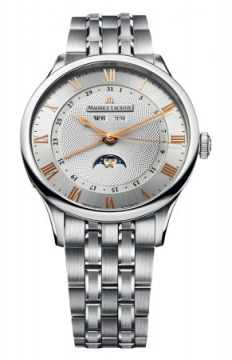 Maurice Lacroix Masterpiece Tradition Phase de Lune Mens watch, model number - mp6607-ss002-111, discount price of £2,740.00 from The Watch Source