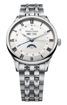 Maurice Lacroix Masterpiece Tradition Phase de Lune Mens watch, model number - mp6607-ss002-112, discount price of £2,744.00 from The Watch Source