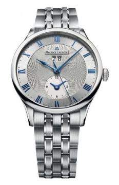 Maurice Lacroix Masterpiece Tradition Date GMT Mens watch, model number - mp6707-ss002-110, discount price of £2,620.00 from The Watch Source