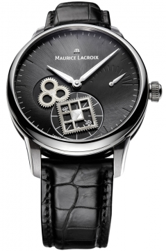 Maurice Lacroix Masterpiece Roue Carree Mens watch, model number - mp7158-ss001-900, discount price of £6,080.00 from The Watch Source