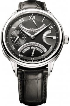 Maurice Lacroix Masterpiece Double Retrograde Manual Wind mp7218-ss001-310 watch