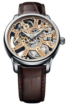 Maurice Lacroix Masterpiece Skeleton Mens watch, model number - mp7228-ss001-001, discount price of £4,080.00 from The Watch Source