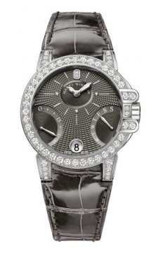 Harry Winston Ocean Lady Biretrograde 36mm Ladies watch, model number - oceabi36ww042, discount price of £32,220.00 from The Watch Source
