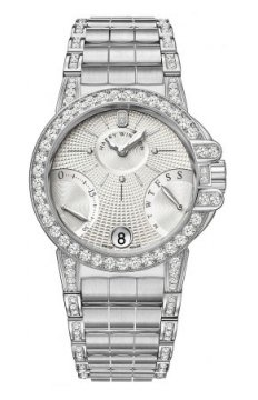 Harry Winston Ocean Lady Biretrograde 36mm Ladies watch, model number - oceabi36ww047, discount price of £60,750.00 from The Watch Source