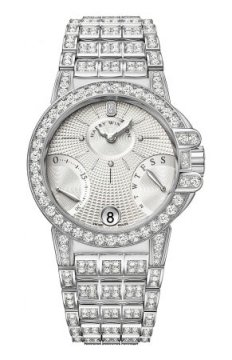 Harry Winston Ocean Lady Biretrograde 36mm Ladies watch, model number - oceabi36ww048, discount price of £83,070.00 from The Watch Source