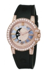 Harry Winston Ocean Lady Moon Phase 36mm oceqmp36rr001 watch