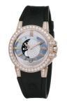 Harry Winston Ocean Lady Moon Phase 36mm oceqmp36rr004 watch