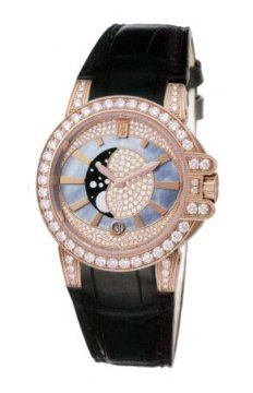 Harry Winston Ocean Lady Moon Phase 36mm Ladies watch, model number - oceqmp36rr007, discount price of £30,240.00 from The Watch Source