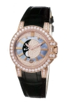 Harry Winston Ocean Lady Moon Phase 36mm oceqmp36rr007 watch