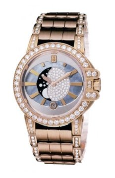 Harry Winston Ocean Lady Moon Phase 36mm Ladies watch, model number - oceqmp36rr009, discount price of £50,850.00 from The Watch Source