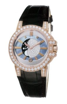 Harry Winston Ocean Lady Moon Phase 36mm Ladies watch, model number - oceqmp36rr012, discount price of £27,450.00 from The Watch Source